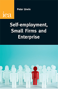 Book cover for, Self-employment, Small Firms and Enterprise, by Peter Urwin.